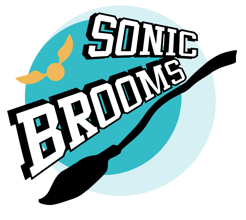 Logo Sonic Broom Ze Next Convention
