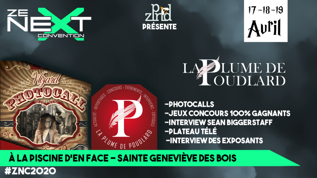 La Plume de Poudlard Ze Next Convention